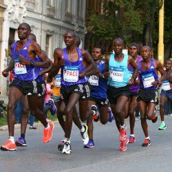 Medzinárodný maratón mieru Košice - maratónci z Kene